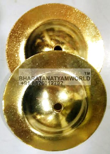 Special Brass Manjira Medium - Polished
