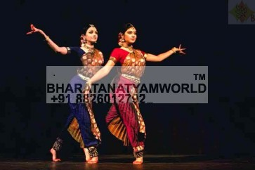Single Fan Bharatnatyam Costume - Brocade