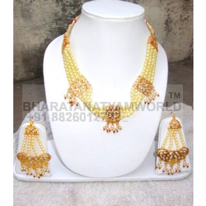 Handicraft Bhangra jewelery set of Neclace + Earrrings