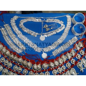 INDIAN Odissi Dance Ecnomic  Jewellery Set