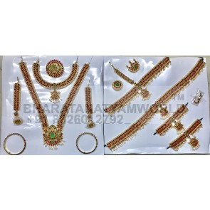 Temple Jewellery Set Premium