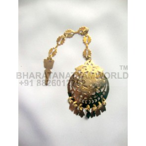 Golden Tikka Tika jewellery for giddha and bhangra