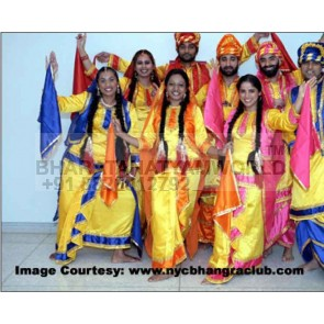 Gidda (Punjabi) Dance Costume Women