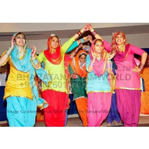 Gidda (Punjabi) Dance Costume Women 2