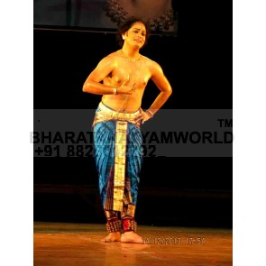 Bharatantyam Men Costume - 15 Pleats