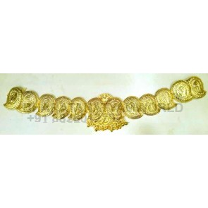 Gold Finish, Mango Style, Lakshmi Waist Belt