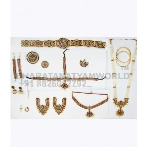 Eco Bharatanatyam Temple Jewellery