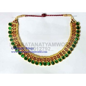 Temple Green Mango Necklace