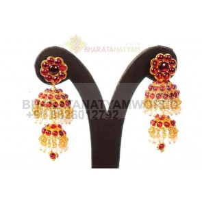 Temple Earring Long