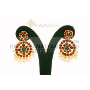 Temple Earring Round 8