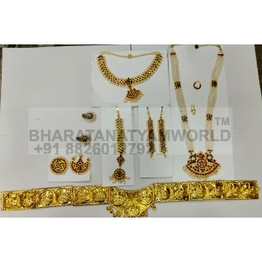 Bharatanatyam Temple Jewellery