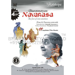 Navarasa / Navarasa 4 DVDs - the face of nine emotions