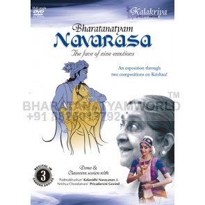 Navarasa / Navarasa (Krishna) - the face of nine emotions