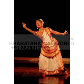 Pure Silk Mohiniyattam Dance Costume
