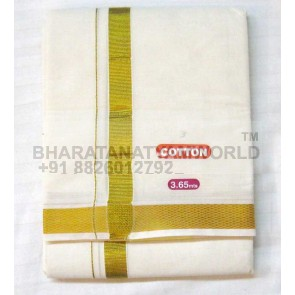 South Indian Cotton Dhoti Without Angvastram
