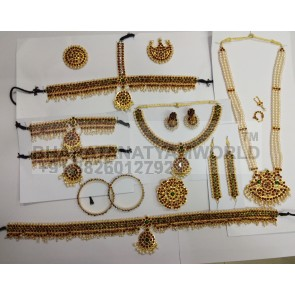 Sun Simple Bharatanatyam Temple Jewellery