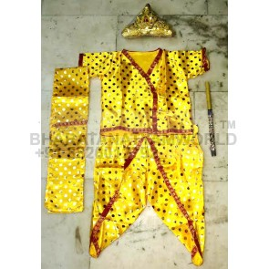 Lord Krishna Costume Set 2