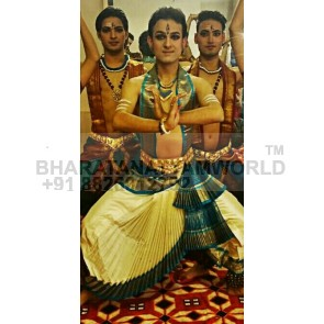 Bharatanatyam Dance Costume Men ( Make - Fabric) 9