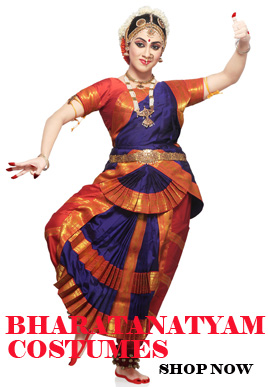 Customize Bharatanatyam Costume